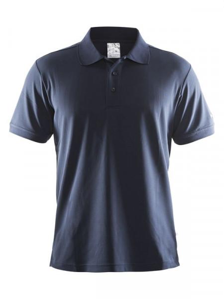 CRAFT Polo Shirt Pique Classic M Navy