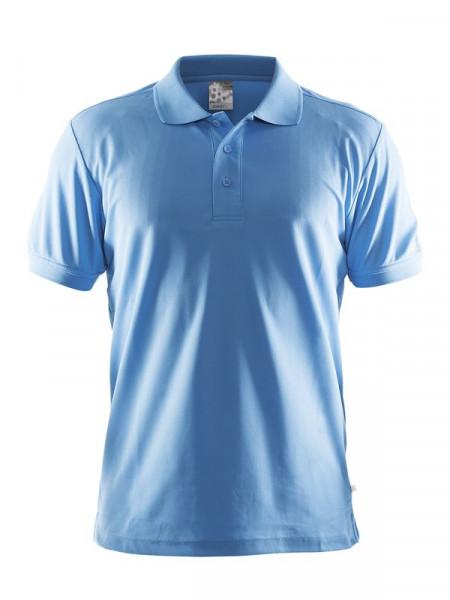 CRAFT Polo Shirt Pique Classic M Aqua
