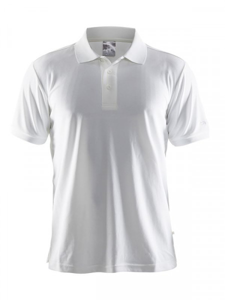 CRAFT Polo Shirt Pique Classic M White